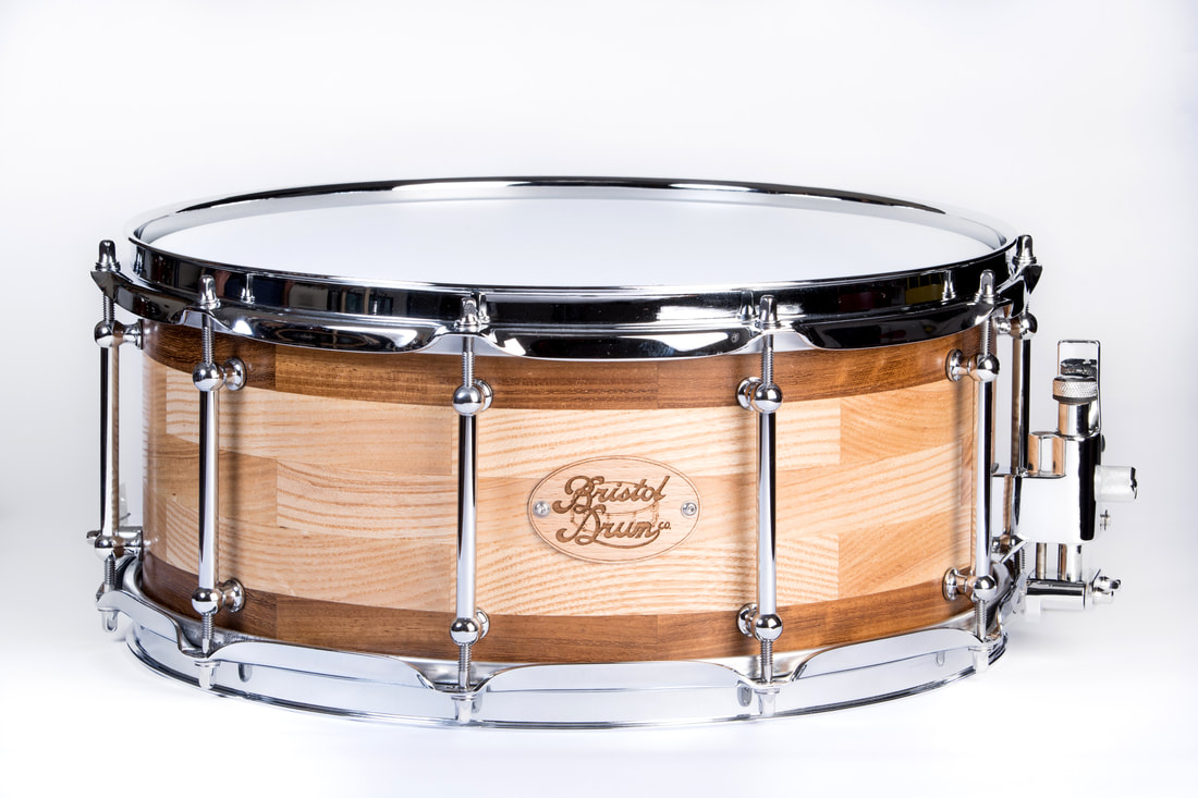 classic wooden snare drum