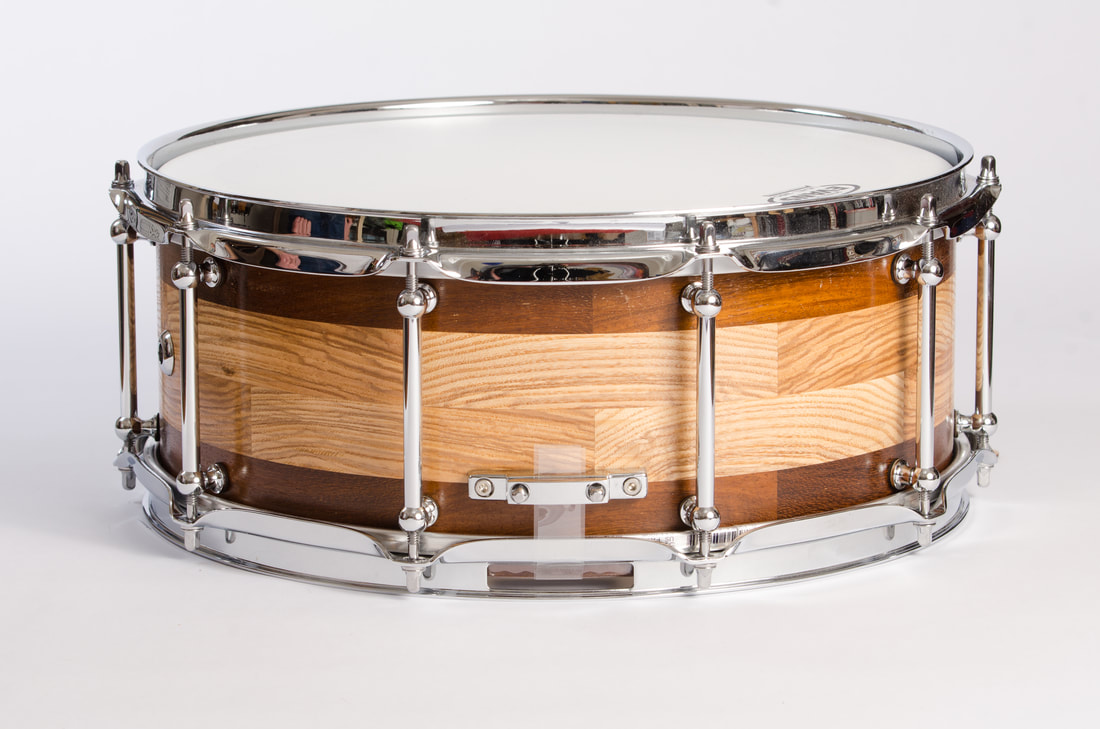 solid wooden snare