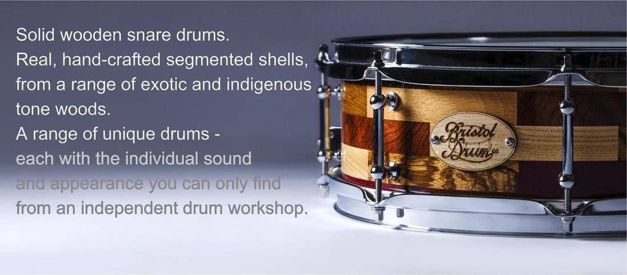Solid wood snare